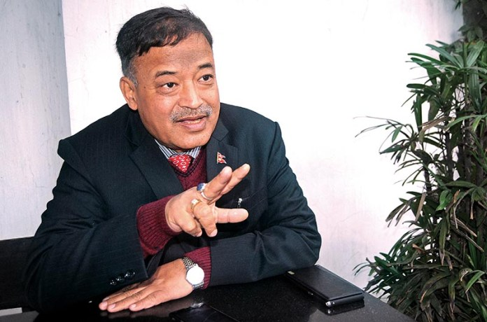 Ravi Shankar Saiju, joint secretary at the Ministry of Industry, Commerce and Supplies,