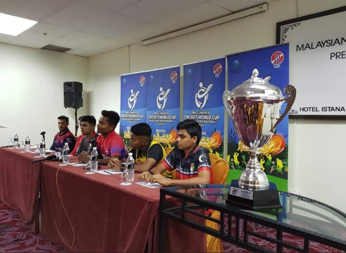 ICC U19 cricket world cup asia qualifiers-2019 press conference
