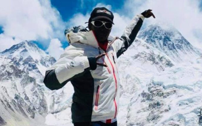 First Black African Summits Everest