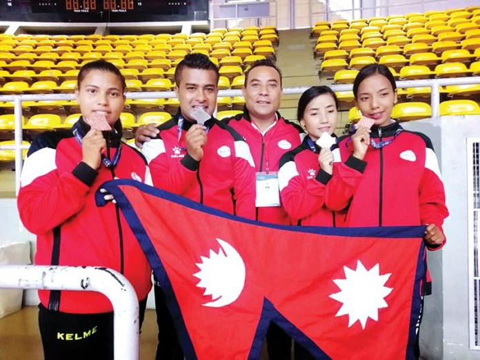 Manday Kaji Shrestha, Thailand Open Karate Championship