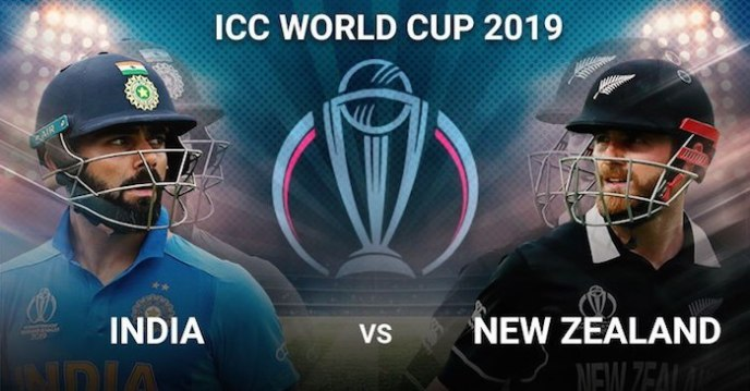 ICC World Cup 2019 - India Vs New Zealand Live