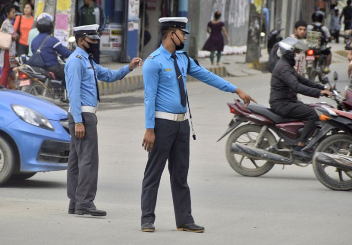 Nepal District Traffic Police Revenue Increased