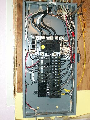 Single Schematic Box Wiring Replacement Of The Electrical Panel