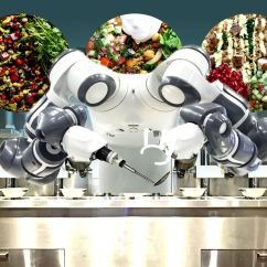 Kitchen Robot Chalkboard Ideas Chef Now Serves Cheap But Quality Food Thanks To Spyce Restaurant S Could Automation Be The Next Fast Frontier