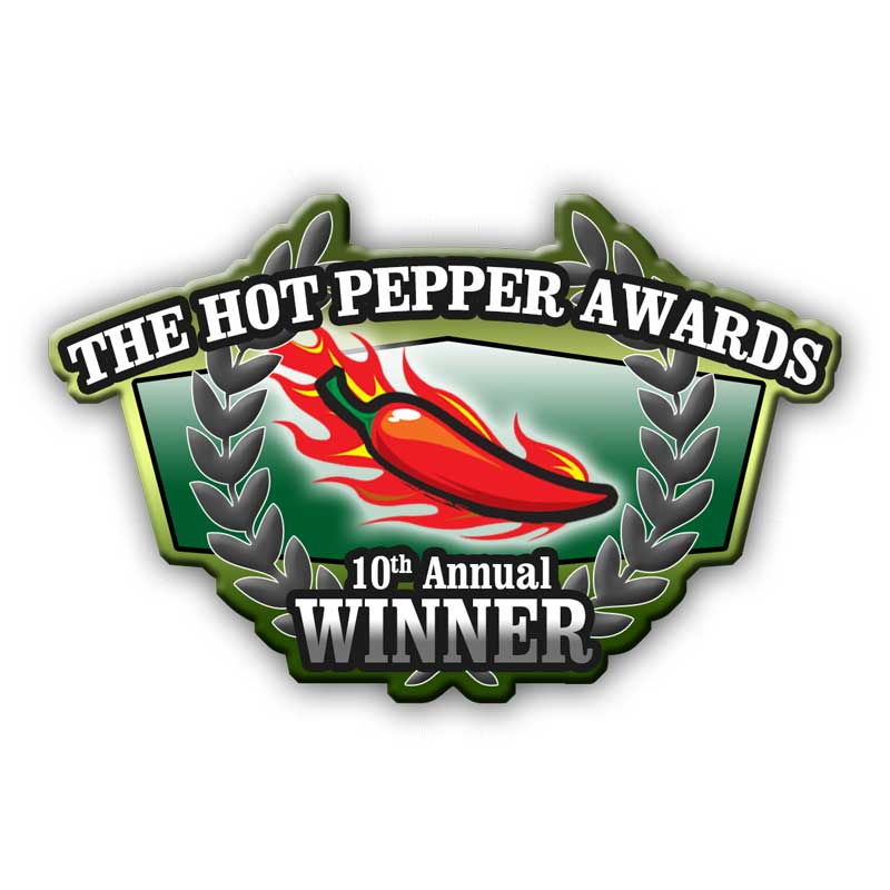 The Hot Pepper Awards logo 2017