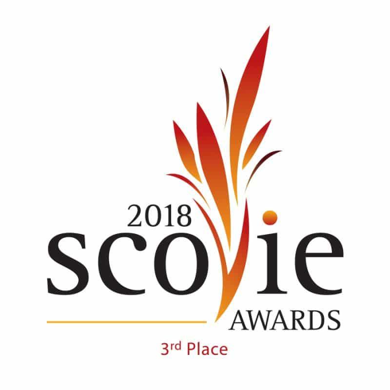 2018 Scovie Awards 3rd place