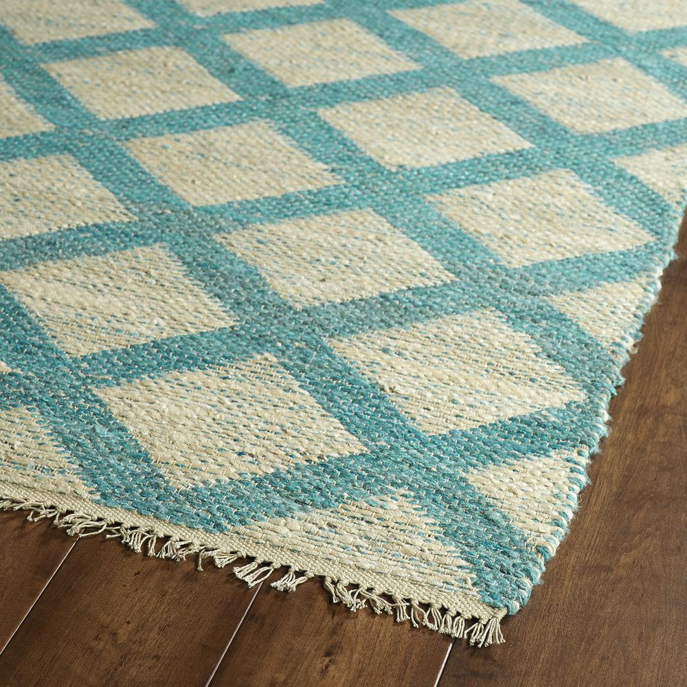 Kaleen Kenwood Teal Ken0591 Area Rug  Free Shipping