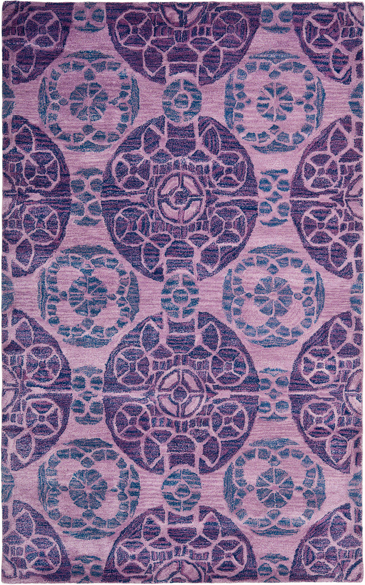 Safavieh Wyndham WYD376J Purple Area Rug  Free Shipping