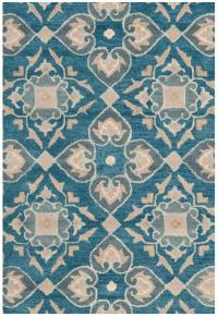 Safavieh Wyndham WYD614A Blue and Grey Area Rug | Free ...