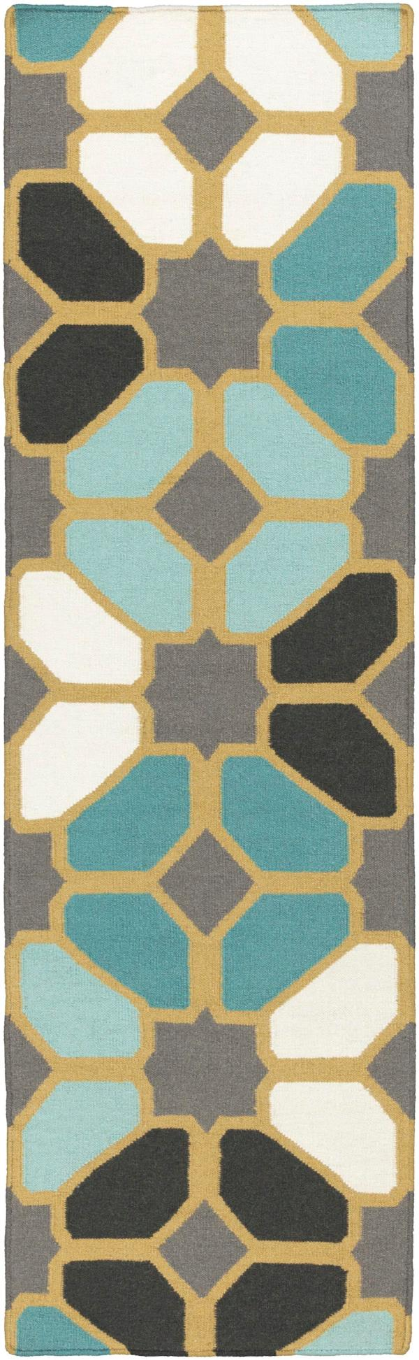 Surya Frontier Ft459 Blue Area Rug Free Shipping