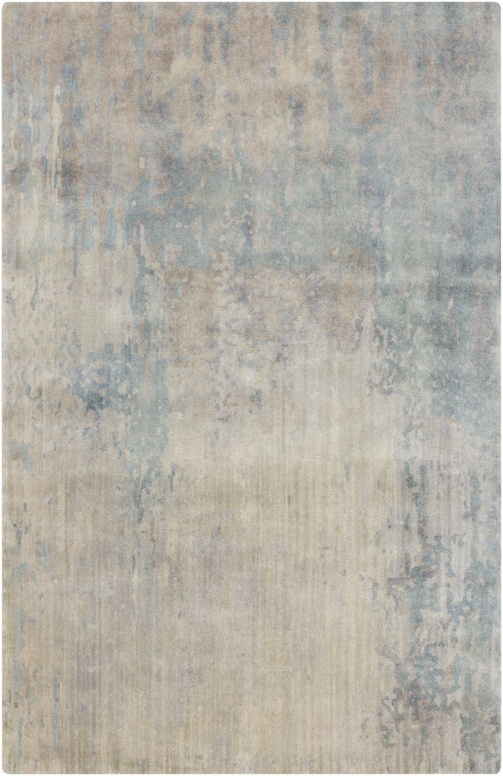 Surya Watercolor WAT5000 Blue Area Rug  Free Shipping