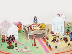 Pooja Room Decoration Ideas For Janmashtami! Boldsky Com