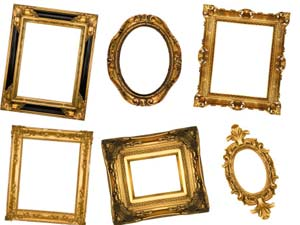 Decorating Walls With Different Types Of Photo Frames