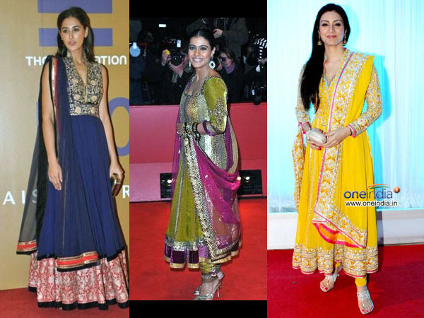 Hairstyles To Try With Anarkali Dresses Boldsky Com