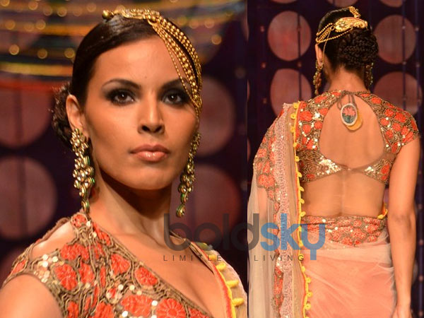 IBFW 2013 Hairstyles For Traditional Wear Boldsky Com