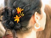 easy hairstyles pool party
