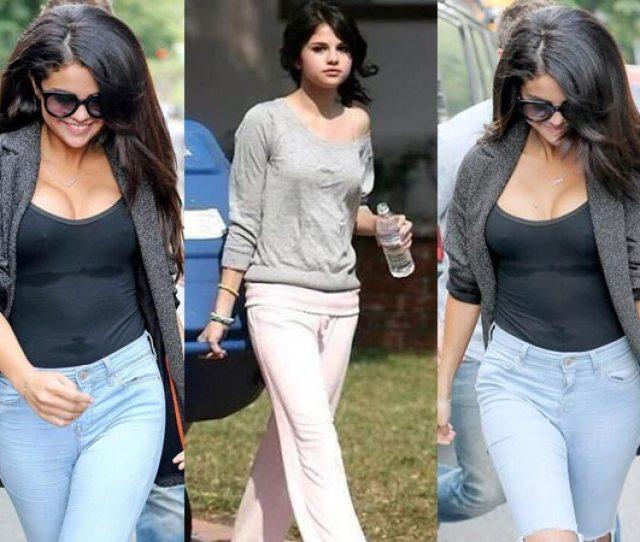 Selena Gomez Braless Is It A Boob Job