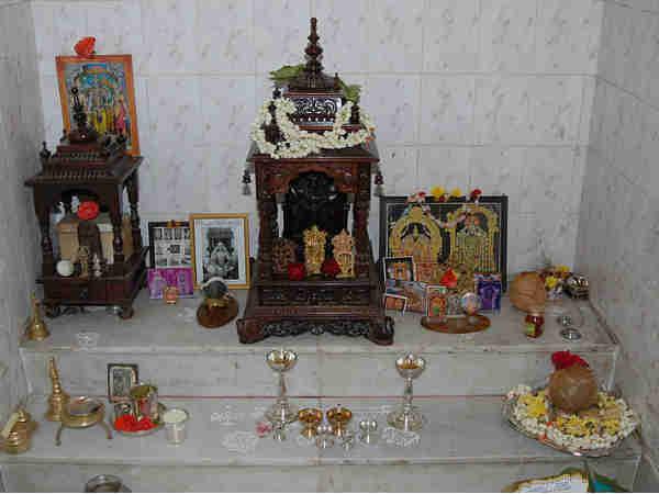 Hindu Prayer Room Design Ideas