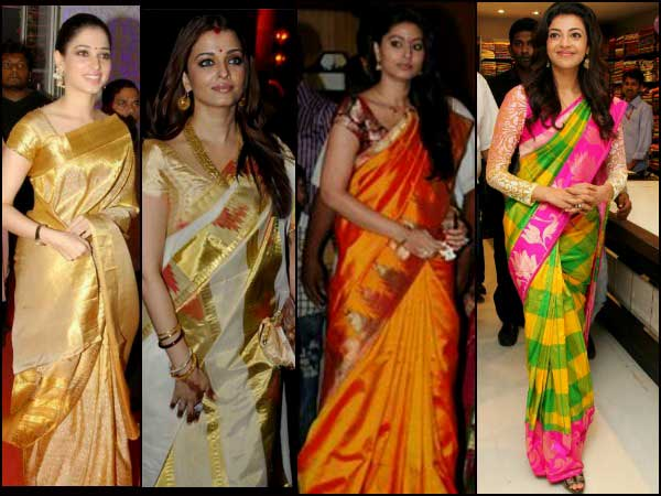 6 South Indian Bridal Saree Styles For You To Try At Your