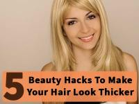 Top 10 Ways To Make Your Hair Look Thicker Top Inspired Of ...
