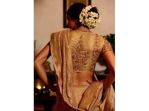 10 Gajra Hairstyles To Try On Kerala Kasavu Sarees This