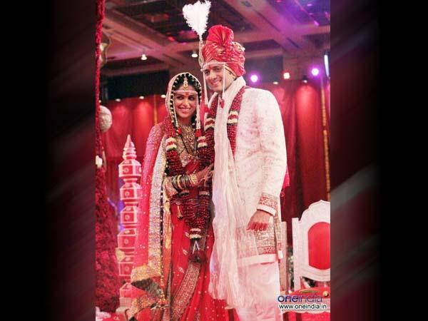 Genelia D' Souza wedding attire