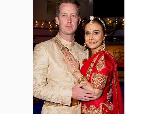 Preity Zinta Wedding Outfit