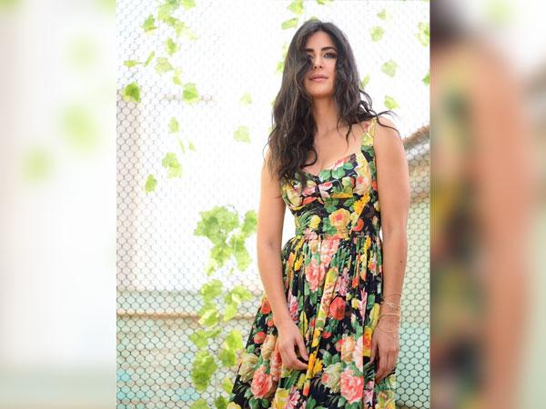 Katrina Kaif In A Multi-Hued Floral Dress