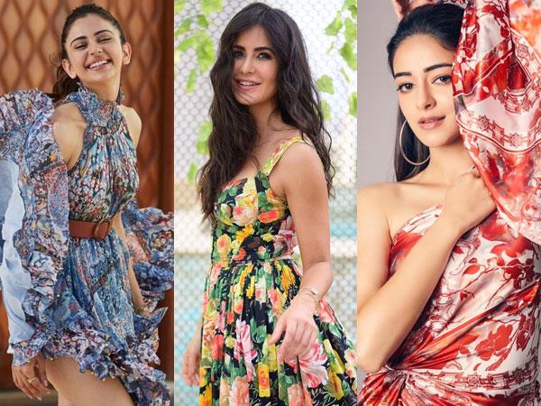 Divas' Floral Dress For Summer Parties