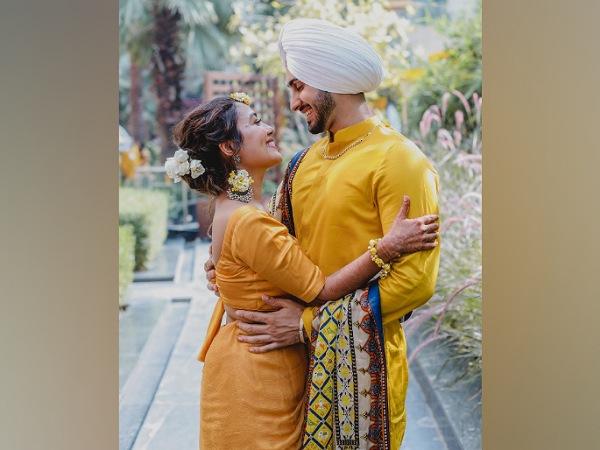 Neha Kakkar And Rohanpreet Singh's Haldi