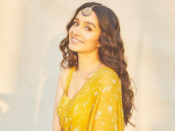 Shraddha Kapoor In A Yellow Saree