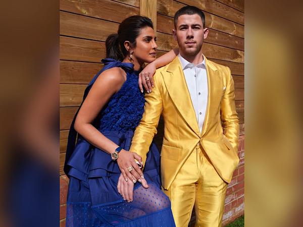 Priyanka Chopra And Nick Jonas' Outfit