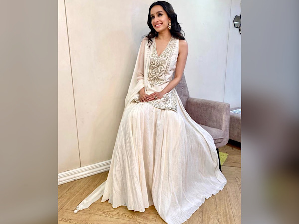Shraddha Kapoor In A White Skirt Set
