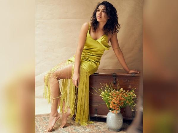 Samantha Akkineni's Fringe Yellow Dress