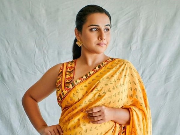 Vidya Balan Yellow Saree It's Price From Sherni Promotional Round fashion for bollywood