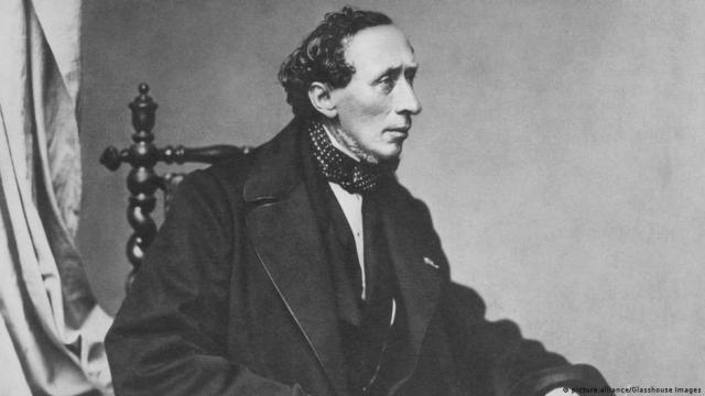 1860 में हैंस क्रिश्चियन एंडरसन