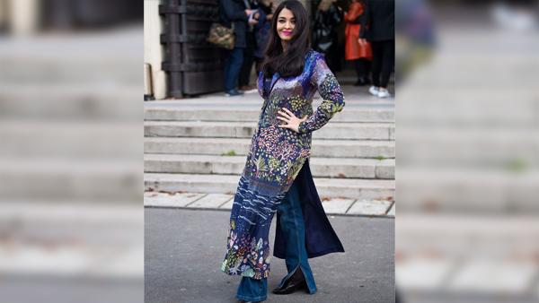 Ish Shwarya Rai Bachchan L'Oreal Paris Fashion Week