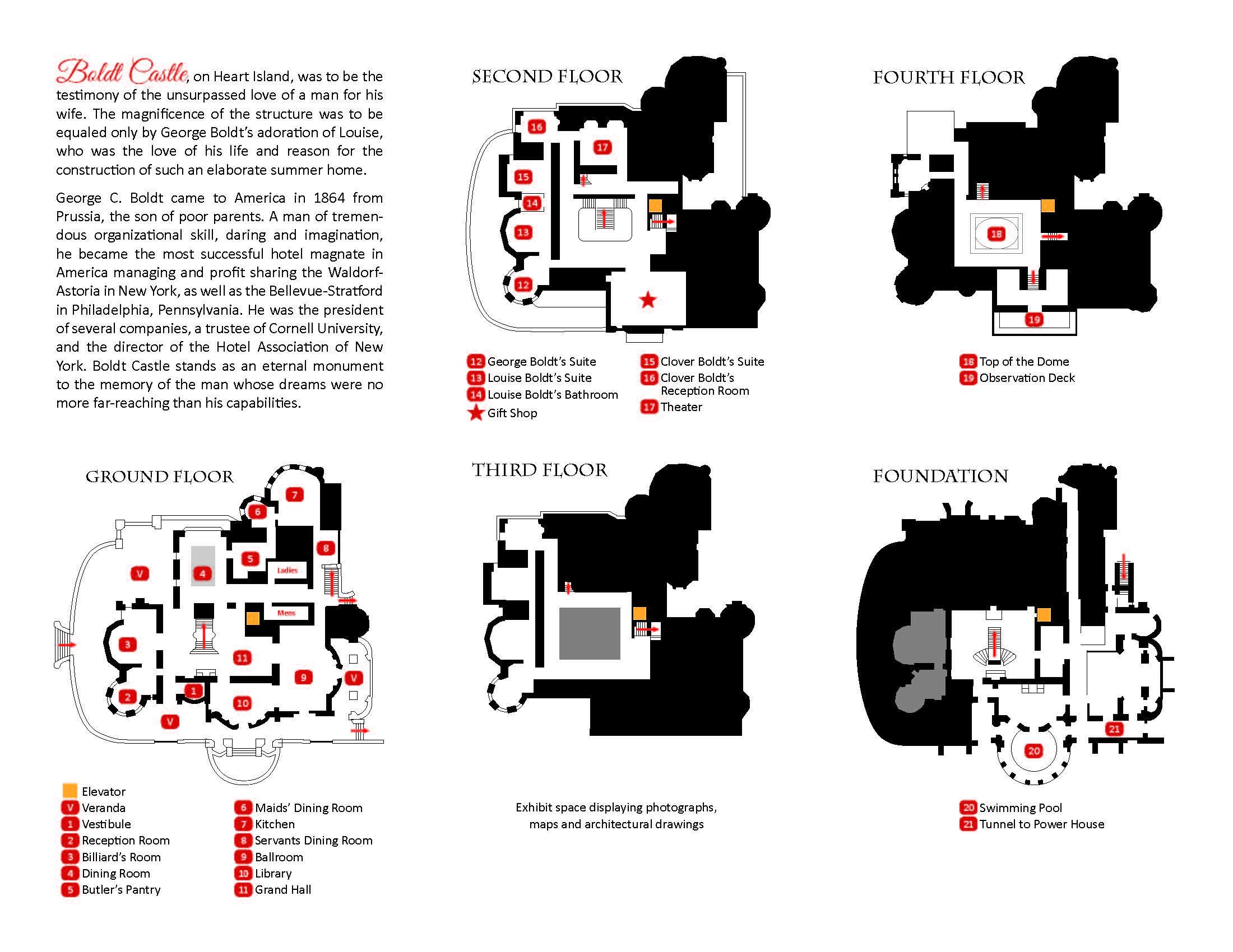 Literature — Official Boldt Castle Website