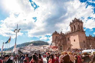 Cusco Inti Raymi Festival -1- June 2015