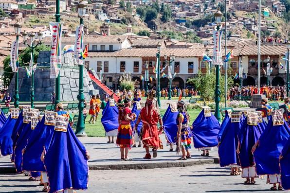 Inti Raymi Festivial In Cusco -19- June 2015