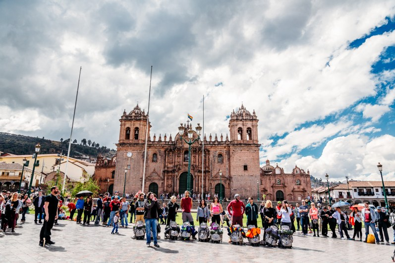 Cusco Peru -65- July 2015