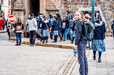 Cusco Peru -70- July 2015
