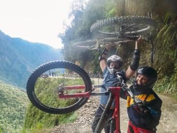 Death Road Biking Bolivia -25- July 2015