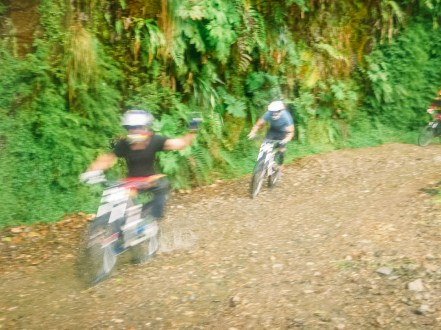 Death Road Biking Bolivia -31- July 2015