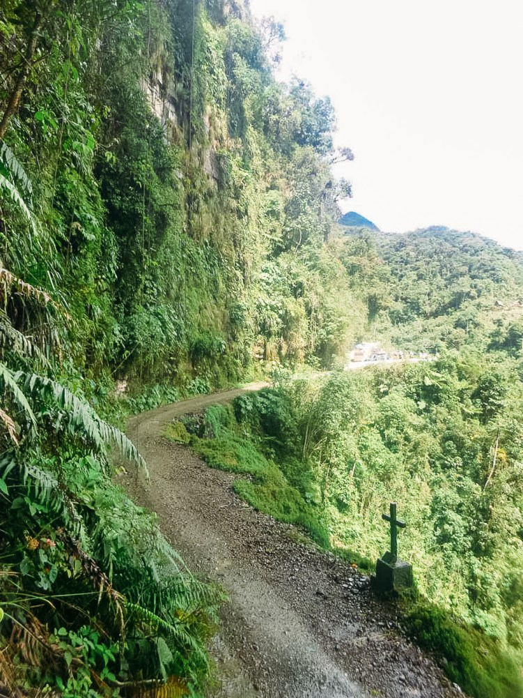 Death Road Mountain Biking Bolivia -7- July 2015