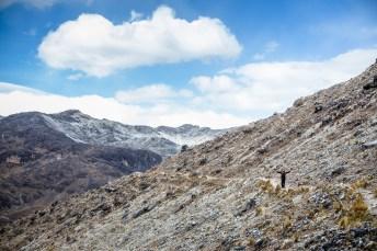 Huayna Potosi Mountain Bolivia -1- July 2015