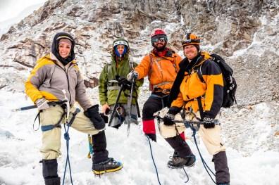 Huayna Potosi Mountain Bolivia -19- July 2015