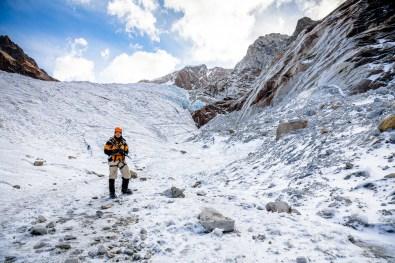 Huayna Potosi Mountain Bolivia -24- July 2015