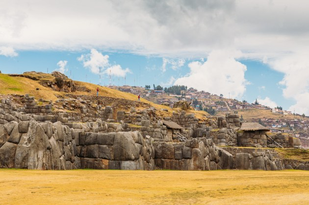 Saksaywaman Cusco Peru -25- July 2015