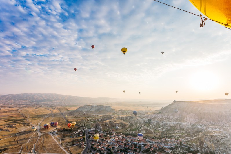 Cappadocia Hot Air Ballooning Photos -83